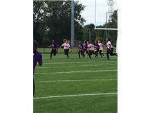 Senior, C. Ozoh, Intercepts The Ball & Runs The Ball