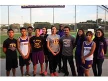 Cross Country Senior Boys & Girls With Their Coaches