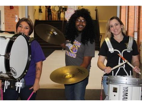 TFN Teachers Release Classes With A Drumline