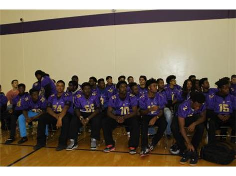 Football Team Gets All The Support From The TFN Family At The Pep Assembly