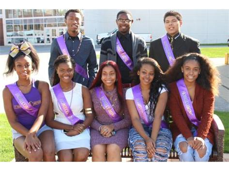 Homecoming Court 2015-2016