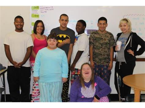 Ms. Rosell's Class Show Off Their Awesome PJ's (Spirit Week 2015)