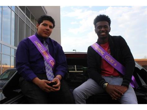 Homecoming Court- Michael Heller & Jaylen Galloway