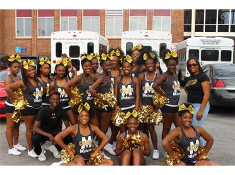 TFN Cheerleaders Ready For The Homecoming Parade