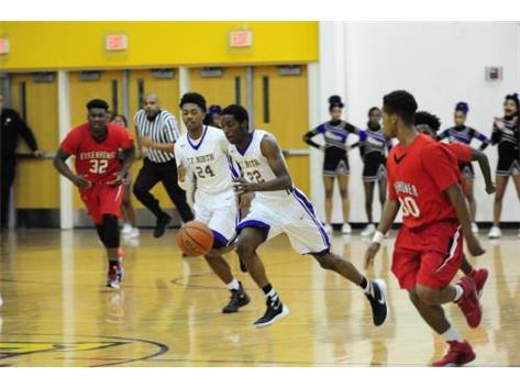 Juniors, #24 Terrell Porter & #22 Jadacus Dixon
