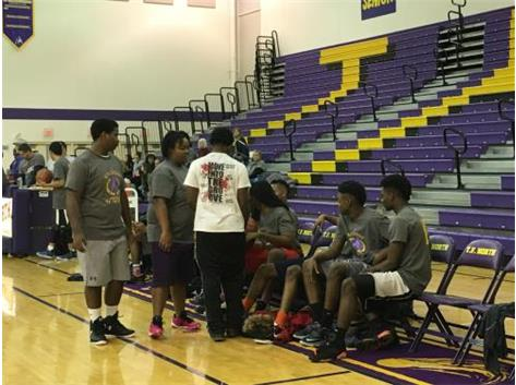 Police VS. Students Basketball Game- January 23, 2016