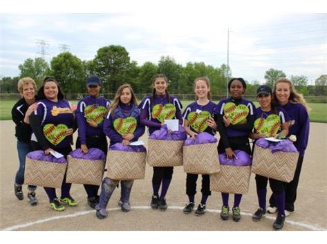 Senior Girls With Coaches Bev & Lake