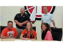 Katie Herdman signs with Union College