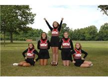 JV Football Cheer 2014