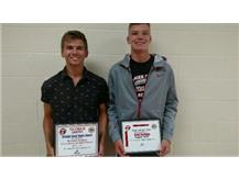 Macy Allstate Good Hands Player of the Week: Brandon Kiminas, Grant Heckman
