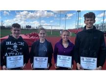 Brian Macy Allstate Good Hands Athlete of the Week: D.J. Johnston, Emma Hoover, Brooke Hoffman, Ross Warren