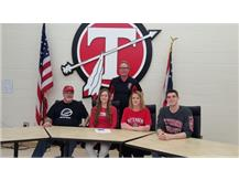 Staci Harmon signs with Wittenberg