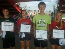 Brian Macy Allstate Player of the Week: Ethan Adams, Mackenzie Pauley, Matthew Brown, Sarah LaPois