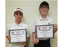 Brian Macy Allstate Athlete of the Week for Golf: Johan Goksor, Ethan Conley