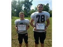 Brian Macy Allstate Athlete of the Week for Football: Ryan Rowland, Isaiah Trimble