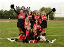 JV Football Cheer 2017