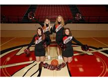 JV Basketball Cheerleaders