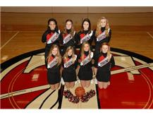 Freshmen Basketball Cheerleaders