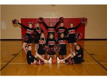 MS Basketball Cheerleaders