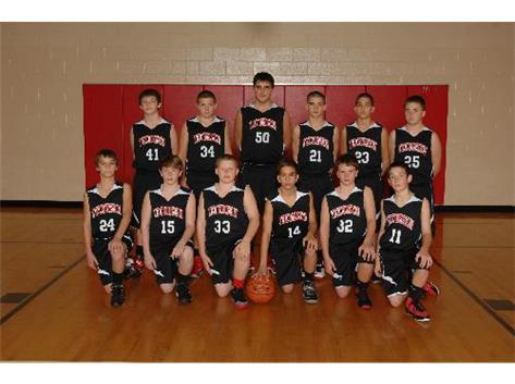 7th Grade Basketball 2013