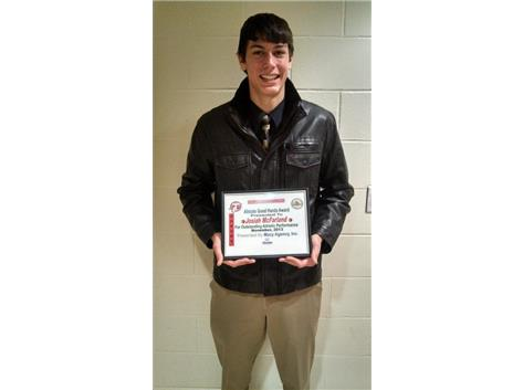 Allstate Good Hands Player of the Week 2013-14 Josiah McFarland