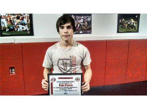 Allstate Good Hands Player of the Week: Blake Biteman. Sponsored by Brian Macy Allstate Insurance Agency
