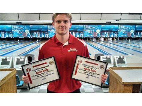 Allstate Good Hands Player of the Week: Justis Seitz Sponsored by Allstate Agent Brian Macy