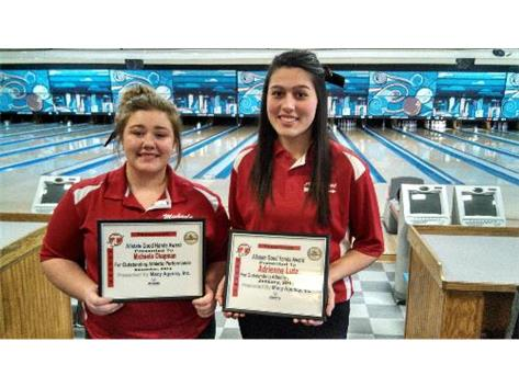 Allstate Good Hands Player of the Week: Michayla Chapman, Adrienne Lutz Sponsored by Allstate Agent Brian Macy