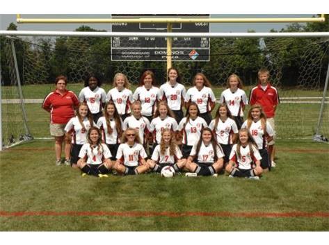 JV Soccer 2014