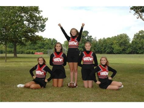 JV Football Cheer 2014