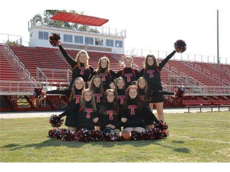 MS Football Cheer 2014