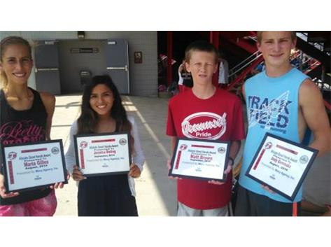 Macy Allstate Player of the Week: Maria Gilles, Jessica Boling, Matt Brown, Andy Gemmaka