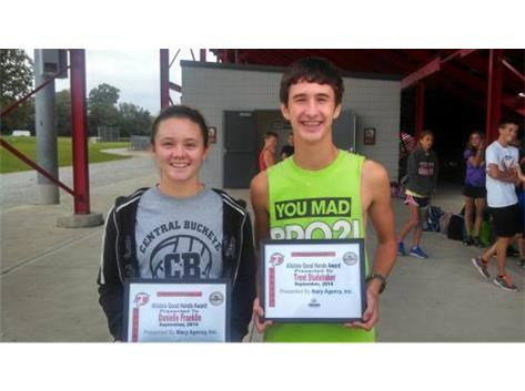 Macy Allstate Player of the Week: Danielle Franklin, Trent Studebaker