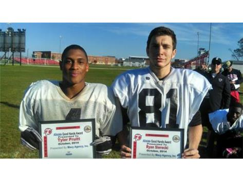 Macy Allstate Player of the Week: Tyler Pruitt, Ryan Sierecki
