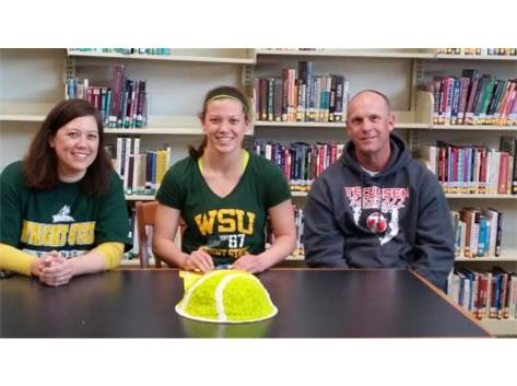 Taylor Culbertson signs with Wright State