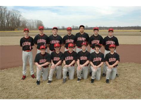 JV Baseball 2014