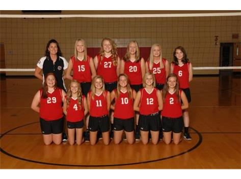 8th Grade Volleyball 2015