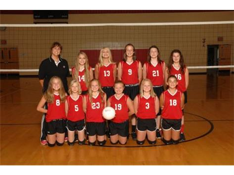 7th Grade Volleyball 2015