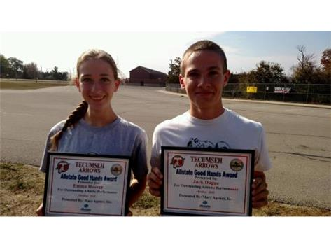 Macy Allstate Player of the Week: Emma Hoover, Jack Dague