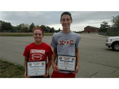 Macy Allstate Player of the Week: Danielle Franklin, Reid Hale
