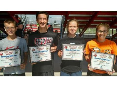Macy Allstate Player of the Week: Ethan Adams, Trent Studebaker, Staci Harmon, Morgan Crowley