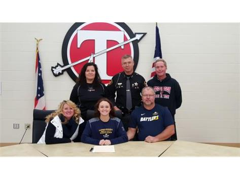 Danielle Franklin signs with Alderson Broaddus Univeristy