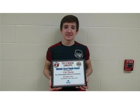 Macy Allstate Athlete of the Week for Basketball: Clay Mastin