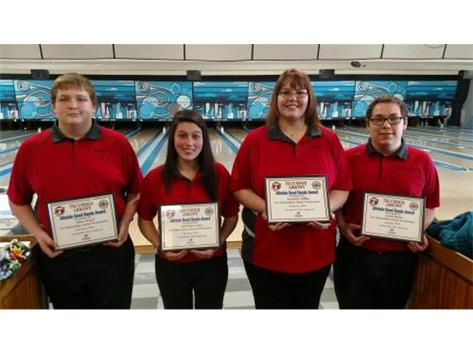 Macy Allstate Athlete of the Week for Bowling: Allen Ward, Adrienne Lutz, Jennifer Dilley, Zach Helm
