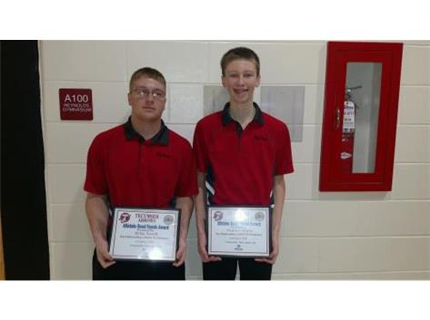 Macy Allstate Athlete of the Week for Bowling: Dylan Terrell, Matthew Brown