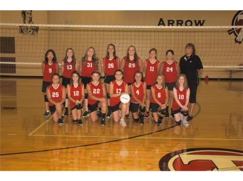 7th Grade Volleyball 2016