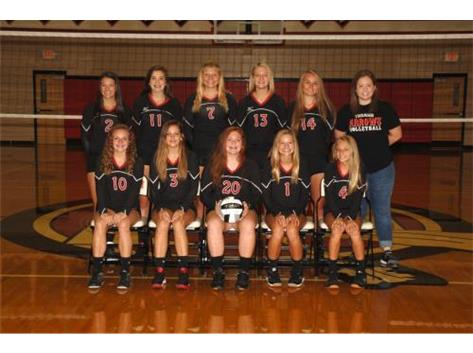 JV Volleyball 2016