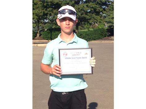 Brian Macy Allstate Athlete of the Week for Golf: Aaron Shaner
