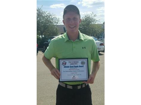 Brian Macy Allstate Athlete of the Week for Golf: Michael Green