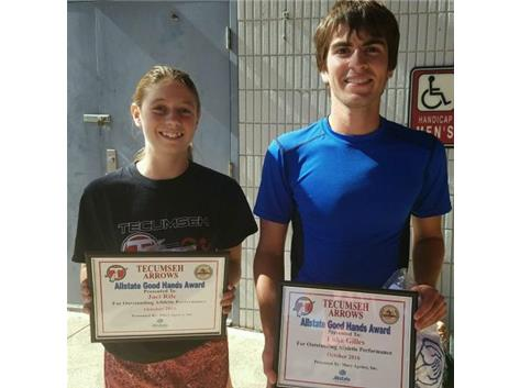 Brian Macy Allstate Player of the Week: Jaci Rife, Luke Gilles